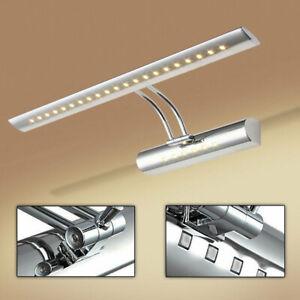 LED Spiegelleuchte Bad Beleuchtung Schminklicht Badezimmer IP44 Aufbaulampe 5W