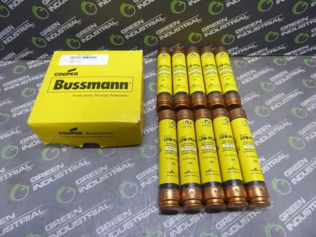 Lot of 10 Cooper Bussmann Low-Peak LPS-RK-12SP