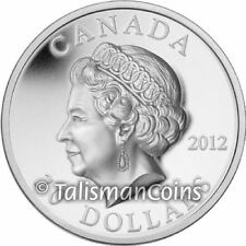 Canada 2012 Queen Elizabeth II Diamond Jubilee $20 High Relief Medallic Silver