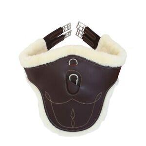 Kentucky-Horsewear-Stollengurt-mit-Lammfellimitat