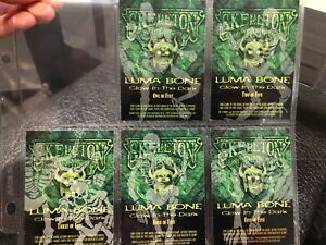 SKELETON-WARRIORS-Fleer-Ultra-1995-Complete-Base-Card-Set-4-Luma