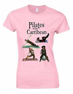 Pilates Womans Shirt Of The Pirates Carribean Movie Parody Cut 2017 wP80OXnk