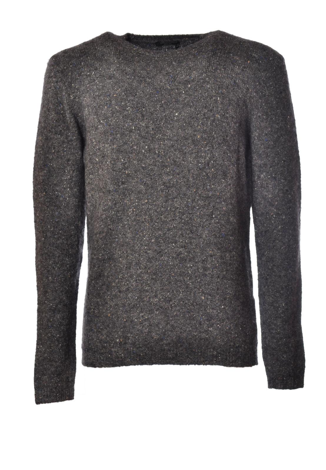 Roberto Collina  -  Sweaters - Male - Grey - 2427426N173818