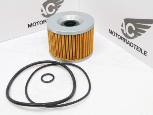 HONDA CB 500 550 Four K0 K1 K2 K3 F1 F2 Ölfilter Einsatz O-Ringe oilfilter