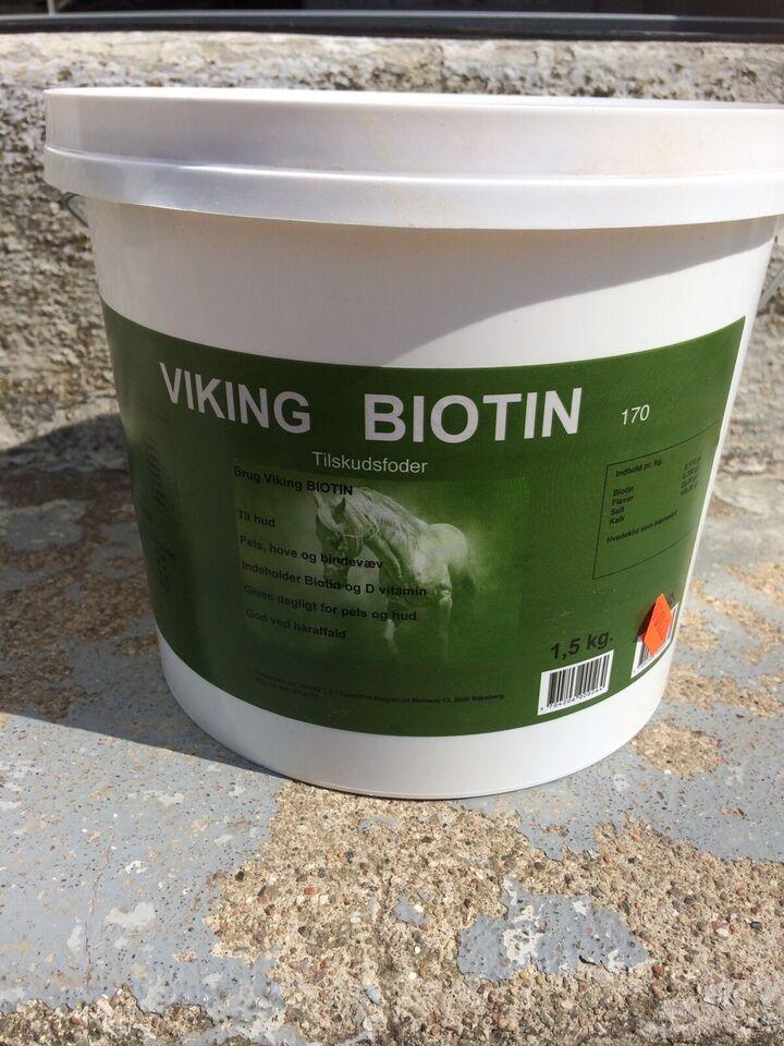 Andet, Biotin