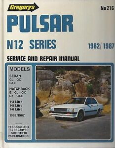 Nissan-Pulsar-N12-Series-Service-and-Repair-Manual-1982-1987
