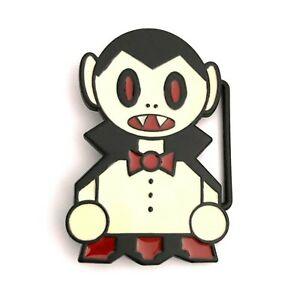 Psychobilly Gothic Horror Punk Emo Goth 90s Vampire Dracula Comic Belt Buckle