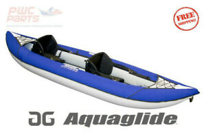"""AQUAGLIDE Chinook XP Two 100 10'6"""" 2 Person Inflatable Kayak 58-4118109"""