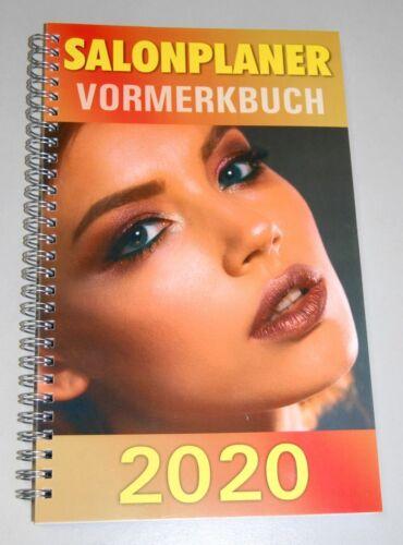 Terminplaner,Nails,NEU Salonplaner 2020 Vormerkbuch Friseur,Terminbuch,Kosmetik