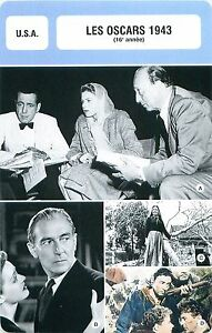 FICHE-CINEMA-USA-LES-OSCARS-1943-16-e-annee