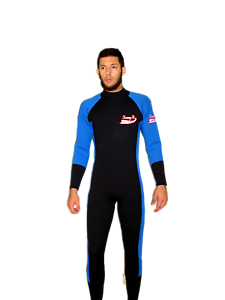 Wetsuit 5 MM size Small to 5X Plus Size Full Rear Zipper Stretch ... 19ca6f325