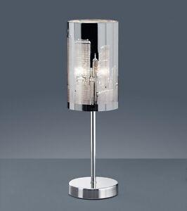 Lume Design Lampada da tavolo Moderno metallo Skyline Luce da ...