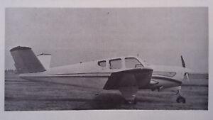 Details about Beechcraft Bonanza J35 Owner's Manual