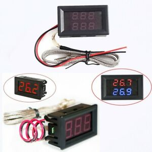 TM-902C Digital LCD K Type Thermometer Meter Single Input Thermocouple Probe