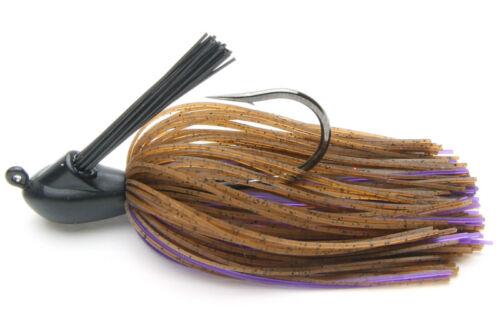 Keitech Tungsten Model I Casting Jig 3//8 Oz Trout Fishing Lure Bass Walleye