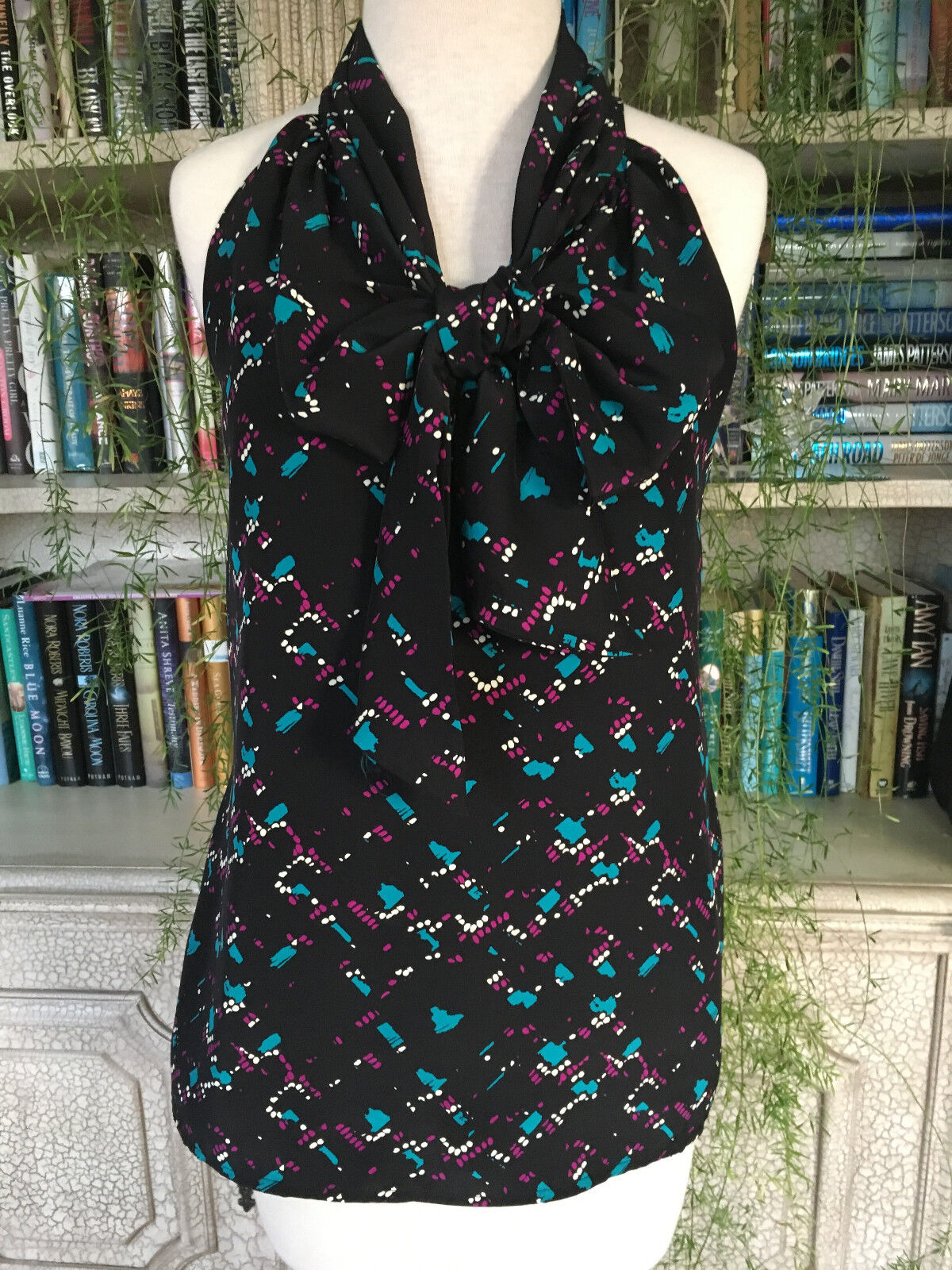 Britt Ryan Sleeveless Top with Front Tie, Size S.  NWOT.