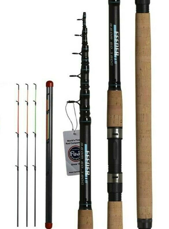 Fishing Rod Telescopic Spinning Casting Travel Rod 3.3 3.6m Carp Feeder Pole