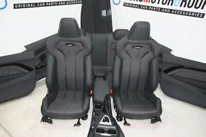 BMW-F82-M4-Sport-Sedili-Interni-Tessuto-IN-Pelle