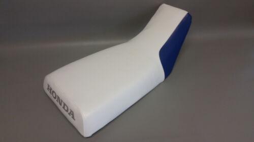 HONDA ATC200X Seat Cover   1983 1984 1985 2-TONE WHITE /& BLUE or 25 COLORS ST