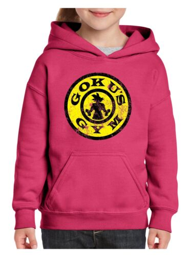 Gym//Workout Hoodie Goku/'s Gym  Youth Hoodies Sweater