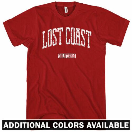 Gift Petrolia Shelter Cove Whitethorn Men S-4X Lost Coast California T-shirt