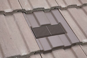 Roof Tile Vent To Fit Marley Ludlow Major With Optional