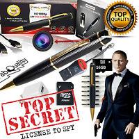 1080p Power Ray Technology Spy Pen Sp220 Dvr Camera Genuine Surveillance Cia Fbi
