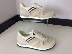Moncler-Boys-Runners-Trainers-Beige-Uk-13-Eu32-Sneakers-NEW-BNWOB-RRP-185