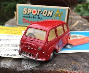 ORIGINAL-VINTAGE-SPOT-ON-120-FIAT-MULTIPLA-VIRTUALLY-MINT-BOXED-PAPERWORK