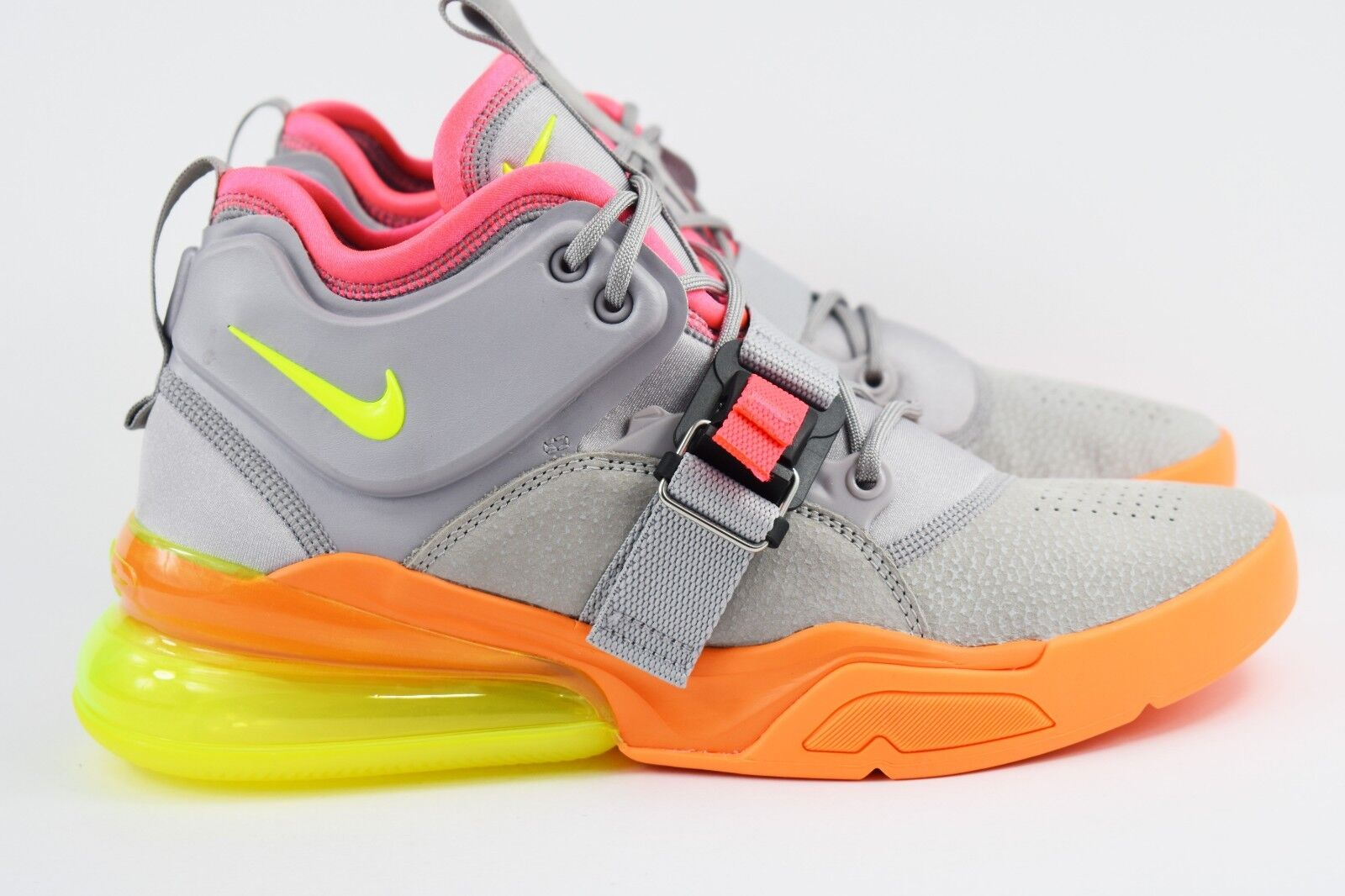 separation shoes 78165 e9e25 Air Nike Force 270 Volt 007 AH6772 Grey Atmosphere Sherbert ...