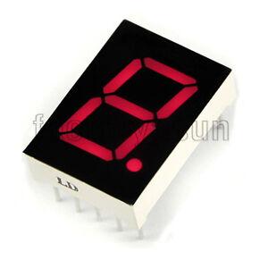5PCS-Red-7-Segment-2-3-034-LED-Single-Digit-Digital-Display-Common-Anode