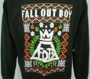 image is loading fall out boy black xl sweat shirt christmas - Fall Out Boy Christmas