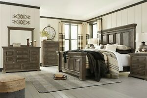 Ashley Furniture Wyndahl Queen Panel 6 Piece Bedroom Set