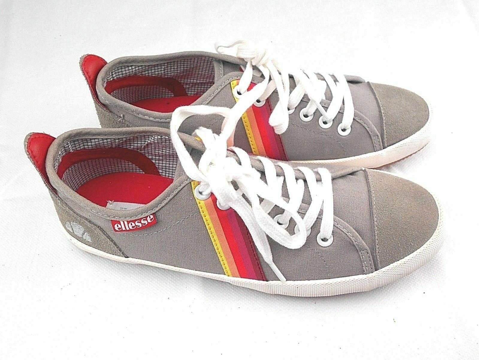 Women Grey Ellesse Trapani Trainers shoes Size