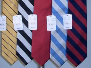 Best-Lot-of-5-PCS-Silk-Woven-Neckties-Tie-Assorted-Mens-New-NWT-Super-Deal