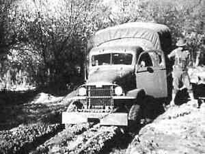 MOTOR VEHICLE DRIVER WWII TRAINING FILMS GMC CCKW DODGE BRAKES  DVD128