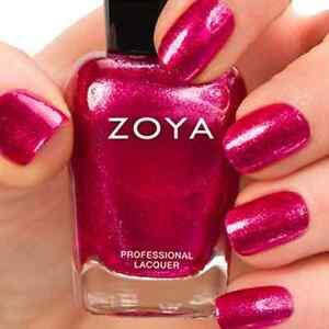 Image Is Loading ZOYA ZP672 BOBBI Magenta Pink Metallic Nail Polish