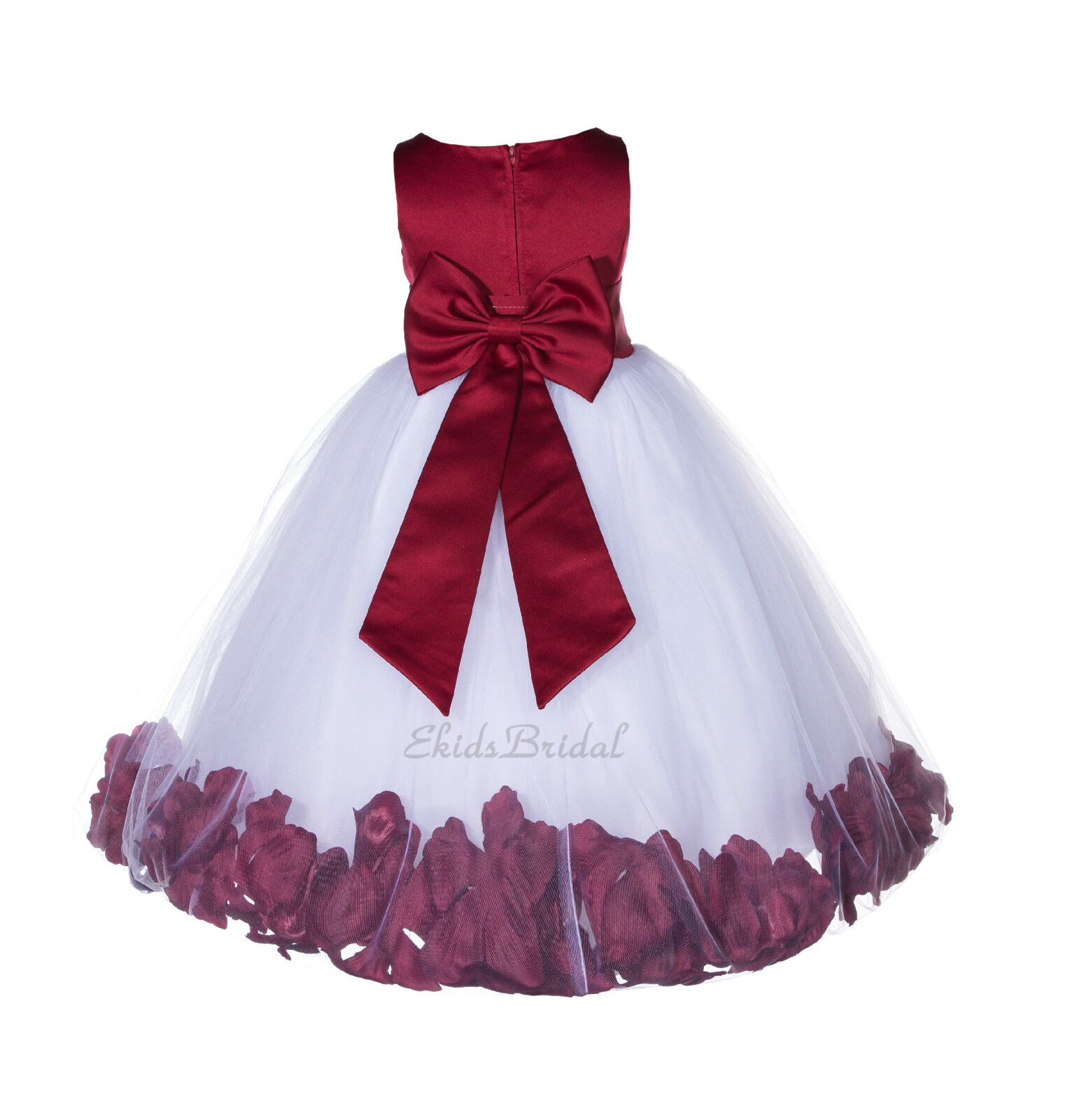 Sizes 2 to 16 New Flower Girl Wedding Pageant Holiday Communion Party Dress A108