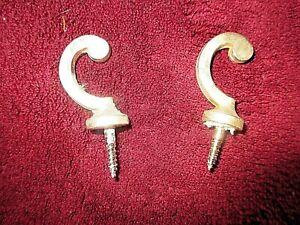 Par-Antiguo-Embrasses-Embrases-para-Cortinas-Tentures-Bronze-Dore-art-Decoracion
