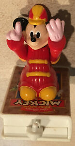 Disney-Figurine-1998-Spirit-Of-Mickey-Mobile-Happy-Meal-Train-Video-Movable-Arms
