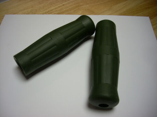 """7//8/"""" Coke Bottle Handlebar Grips for BICYCLE New Army Green vintage look 7//8/"""""""