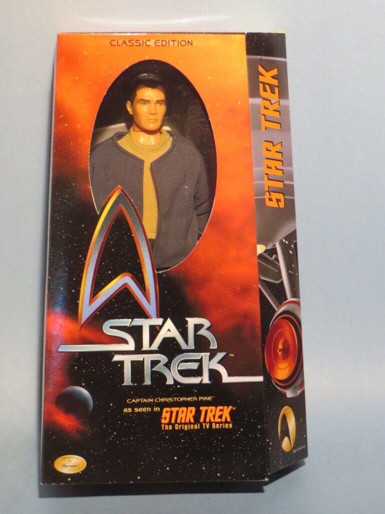 tienda de ventas outlet Estrella Trek el el el capitán Pike 12  Figura De Acción De Lujo   casi PERFECTO estado  Estrella Trek 50TH Aniversario   envío rápido en todo el mundo