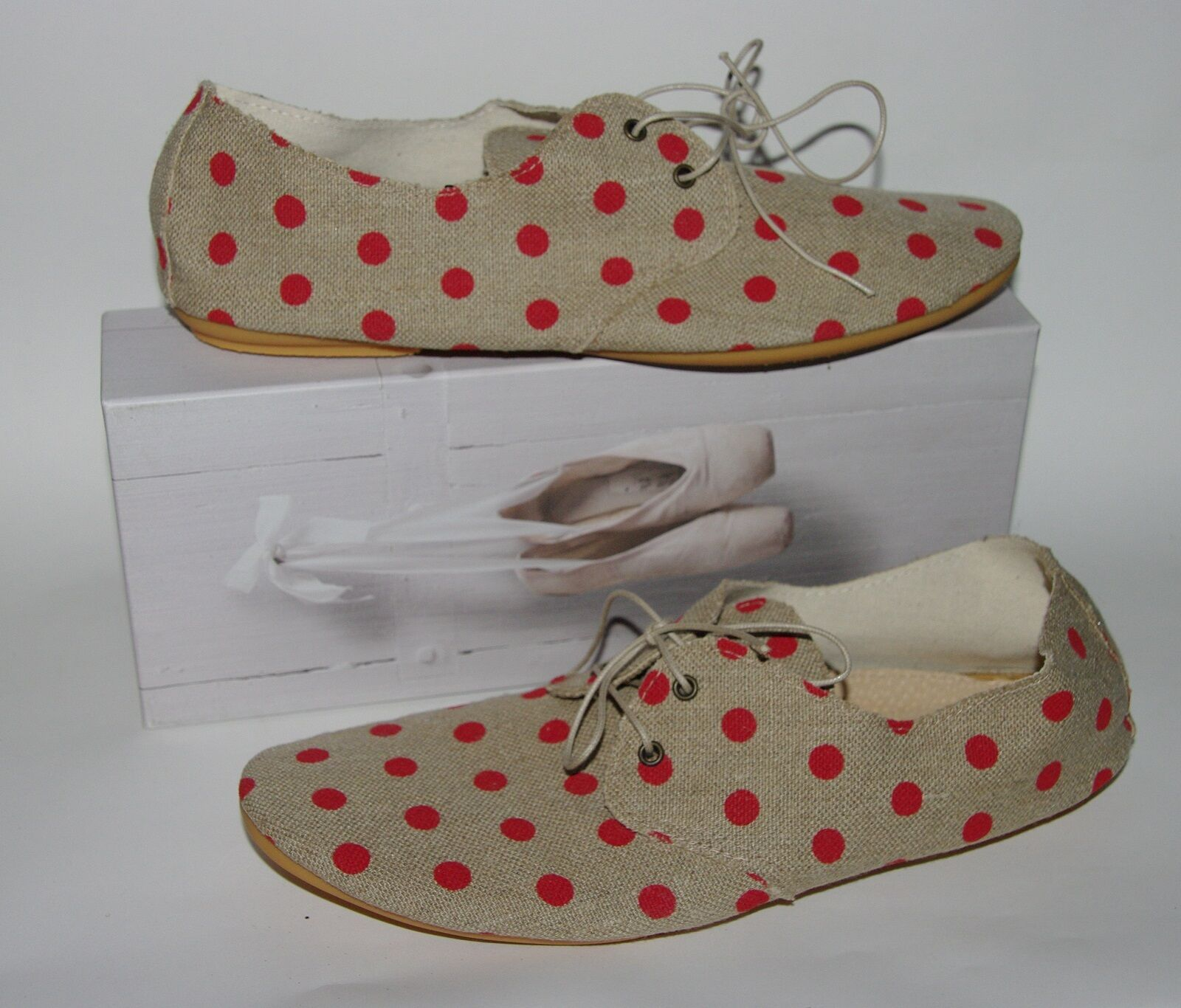 NEU 110 Anniel Ballet Derby Schuhes   9.5US/40 EU 10US/41EU