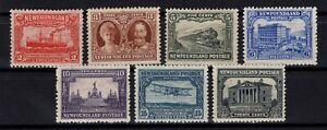 P131828-NEWFOUNDLAND-CANADIAN-PROV-SG-180-181-183-187-MH-CV-160