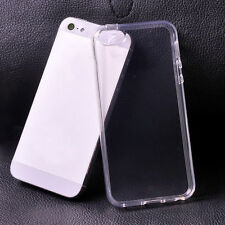Ultra Thin Gel Rubber TPU Soft Case Cover Clear For iPhone 5 CHEAPEST ON EBAY