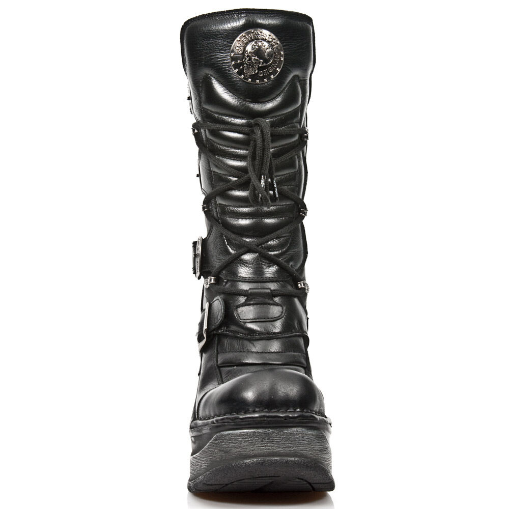 Frye Carson Heel Tab Bota para De Cuero Negro para Bota Mujeres M 6657 27e0b6