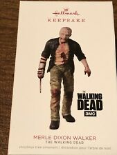 2018 Hallmark Walking Dead Merle Dixon Walker Limited Edition Ornament Zombie