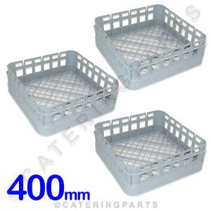 3-x-CLASSEQ-CLASSIC-400mm-x-400mm-OPEN-CUP-GLASSWASHER-RACKS-BASKETS-500GBP