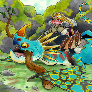 how to train your dragon astrid and stormfly
