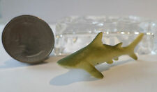 "New 1 Pc BULL SHARK Plastic Figurine Diorama 2"" long Oceanic Life Aquarium Tank"